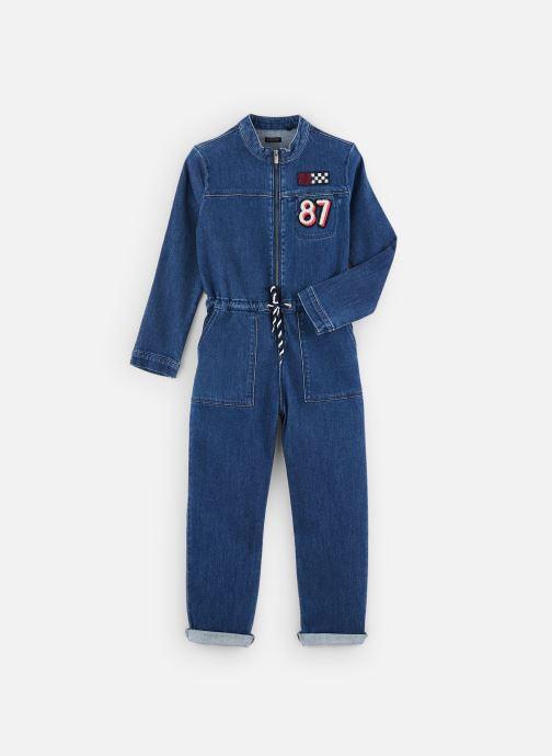 Vêtements IKKS JUNIOR  Combi Longue XP32002 Bleu vue détail/paire