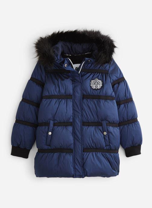 Vêtements IKKS JUNIOR  Doudoune Longue XP41012 Bleu vue détail/paire