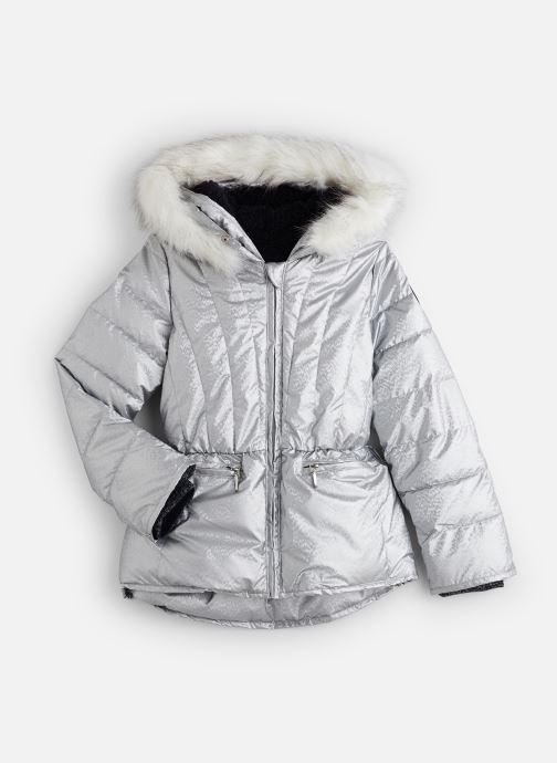 Vêtements IKKS JUNIOR  Doudoune Mi-Longue XP41022 Argent vue détail/paire