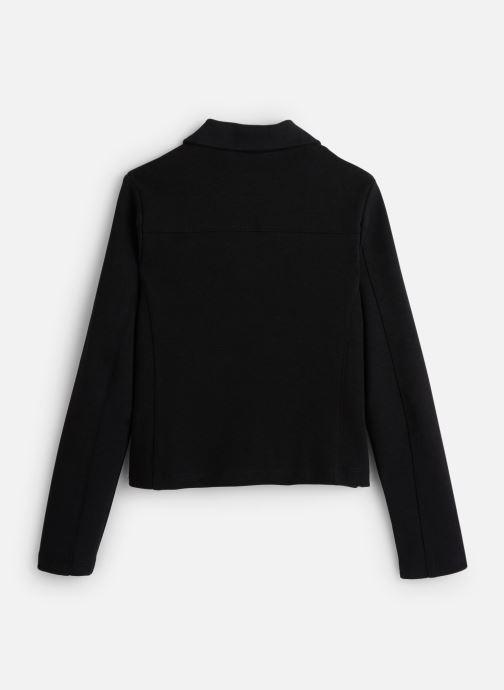 Vêtements IKKS JUNIOR  Cardigan Zippe XP17022 Noir vue bas / vue portée sac