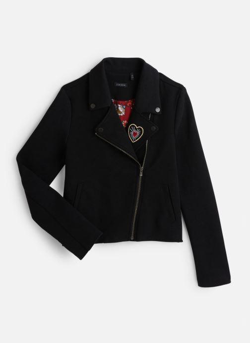 Vêtements IKKS JUNIOR  Cardigan Zippe XP17022 Noir vue détail/paire