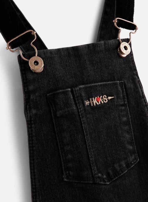 Vêtements IKKS JUNIOR  Salopette Denim XP20022 Bleu vue portées chaussures