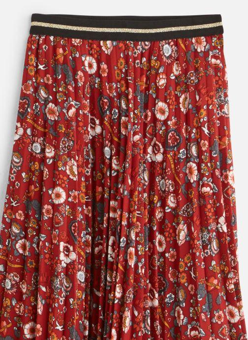 Vêtements IKKS JUNIOR  Jupe Plissee XP27022 Rouge vue portées chaussures
