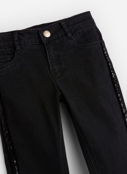 Vêtements IKKS JUNIOR  Denim Skinny XP29032 Noir vue portées chaussures