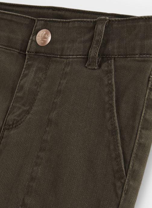 Vêtements IKKS JUNIOR  Pantalon Battle XP22022 Vert vue portées chaussures