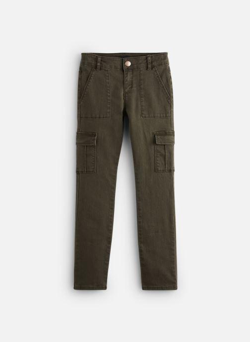 Vêtements IKKS JUNIOR  Pantalon Battle XP22022 Vert vue détail/paire