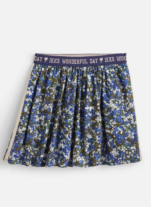 Vêtements IKKS JUNIOR  Jupe Imprimee XP27092 Vert vue détail/paire