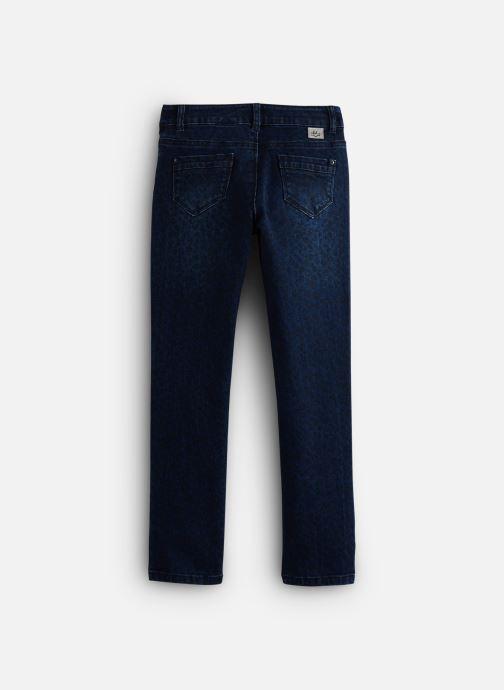 Vêtements IKKS JUNIOR  Denim Slim XP29082 Bleu vue bas / vue portée sac
