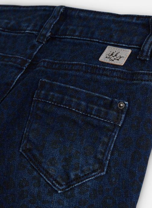 Vêtements IKKS JUNIOR  Denim Slim XP29082 Bleu vue portées chaussures