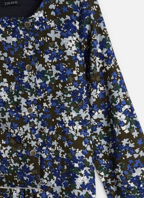 Vêtements IKKS JUNIOR  Robe ML XP30122 Vert vue portées chaussures