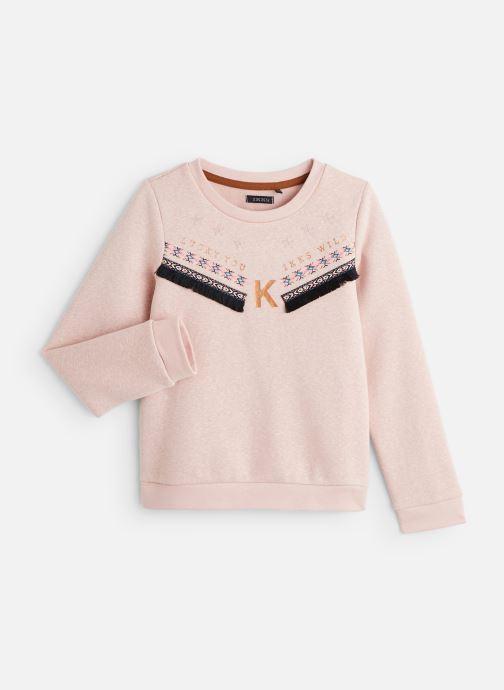 Vêtements IKKS JUNIOR  Sweat XP15062 Rose vue détail/paire