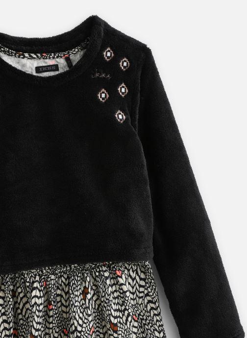 Vêtements IKKS JUNIOR  Robe 2en1 ML XP30162 Noir vue portées chaussures