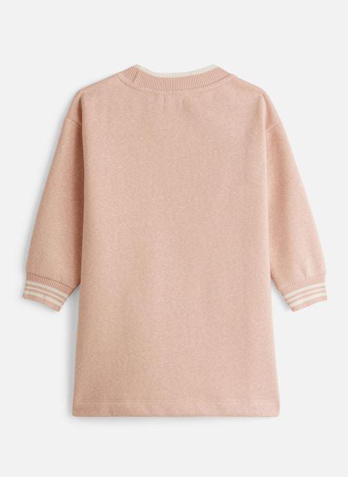 Vêtements IKKS JUNIOR  Robe Molleton XP30312 Rose vue bas / vue portée sac