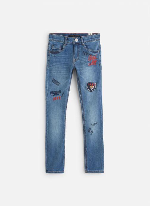 Vêtements IKKS JUNIOR  Skinny Patch XP29003 Bleu vue détail/paire