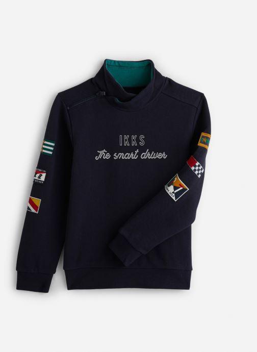 Vêtements IKKS JUNIOR  Sweat C Montant XP15023 Bleu vue détail/paire