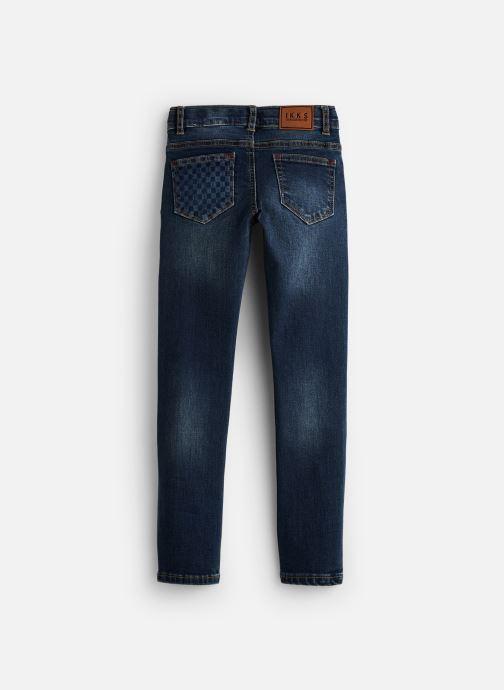 Vêtements IKKS JUNIOR  Skinny Indechir XP29013 Bleu vue bas / vue portée sac