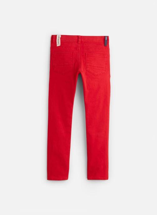 Vêtements IKKS JUNIOR  Denim Slim XP29043 Rouge vue bas / vue portée sac