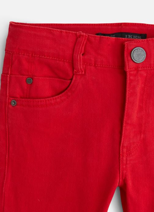 Kleding IKKS JUNIOR  Denim Slim XP29043 Rood model