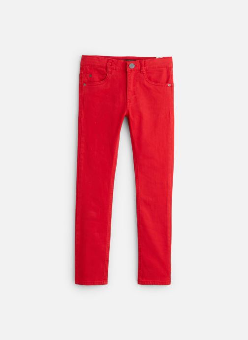 Kleding IKKS JUNIOR  Denim Slim XP29043 Rood detail