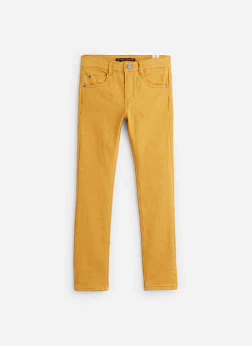 Vêtements IKKS JUNIOR  Denim Slim XP29043 Jaune vue détail/paire
