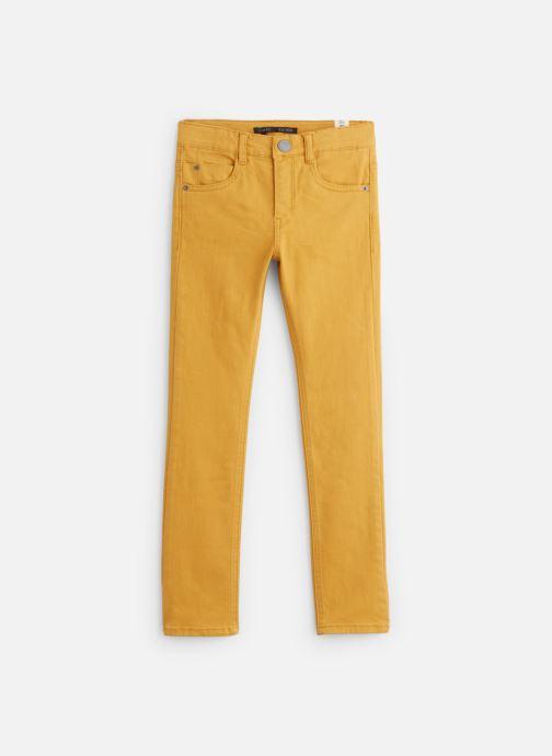 Vêtements IKKS JUNIOR  Denim Slim XP29043 Jaune vue détail/paire
