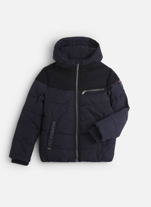 Vêtements IKKS JUNIOR  Doudoune Cap XP41133 Bleu vue détail/paire
