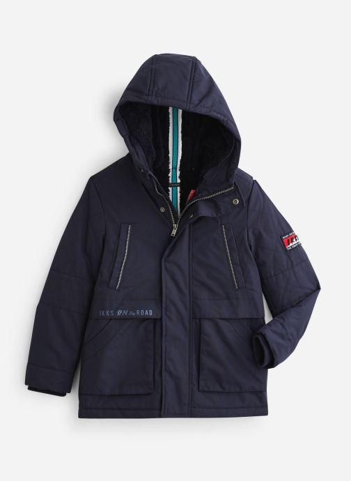 Vêtements IKKS JUNIOR  Parka 2en1 Cap XP49003 Bleu vue détail/paire