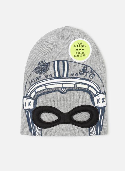Bonnets IKKS JUNIOR  Bonnet Masque XP90233 Gris vue détail/paire
