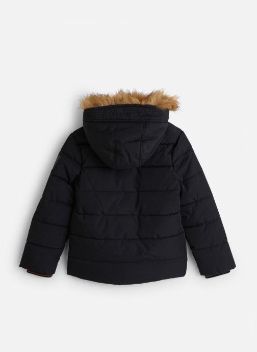 Vêtements IKKS JUNIOR  Doudoune Cap XP41053 Noir vue bas / vue portée sac