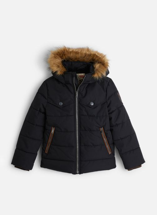Vêtements IKKS JUNIOR  Doudoune Cap XP41053 Noir vue détail/paire