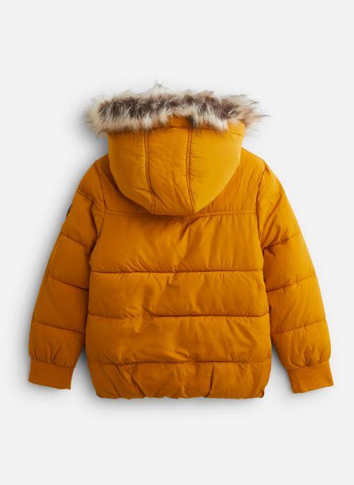 Vêtements IKKS JUNIOR  Doudoune Cap XP41063 Jaune vue bas / vue portée sac