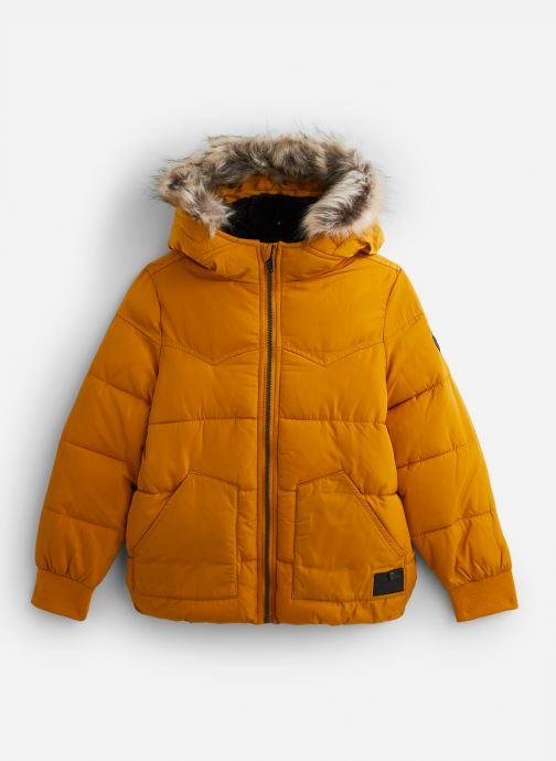 Vêtements IKKS JUNIOR  Doudoune Cap XP41063 Jaune vue détail/paire