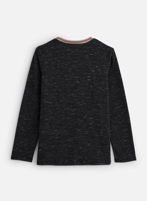 Vêtements IKKS JUNIOR  Tee Shirt ML XP10183 Gris vue bas / vue portée sac