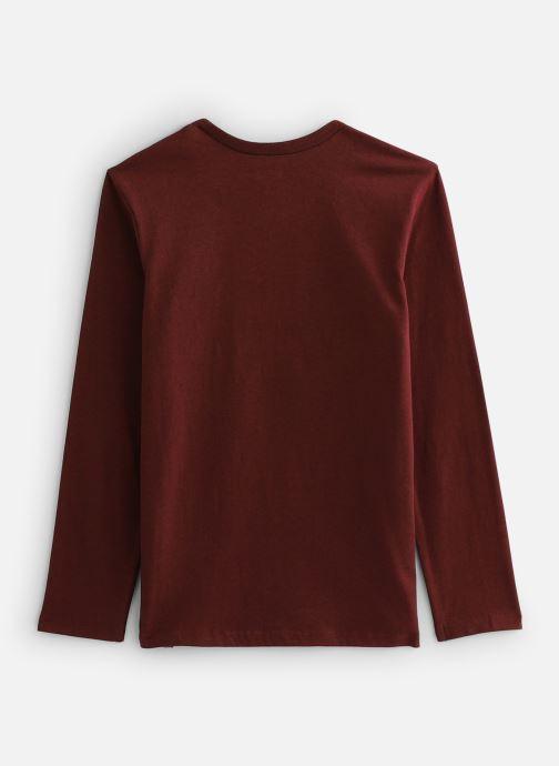 Vêtements IKKS JUNIOR  Tee Shirt ML XP10223 Rouge vue bas / vue portée sac