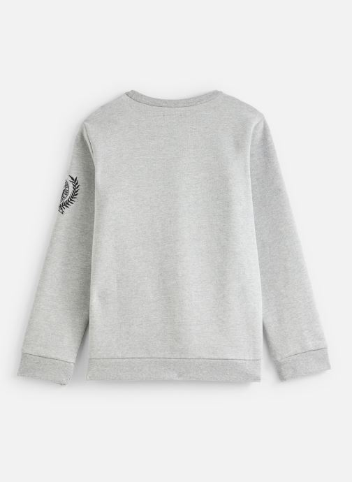 Vêtements IKKS JUNIOR  Sweat C Rond XP15063 Gris vue bas / vue portée sac