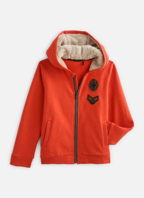 Vêtements IKKS JUNIOR  Cardigan Cap XP17053 Orange vue détail/paire