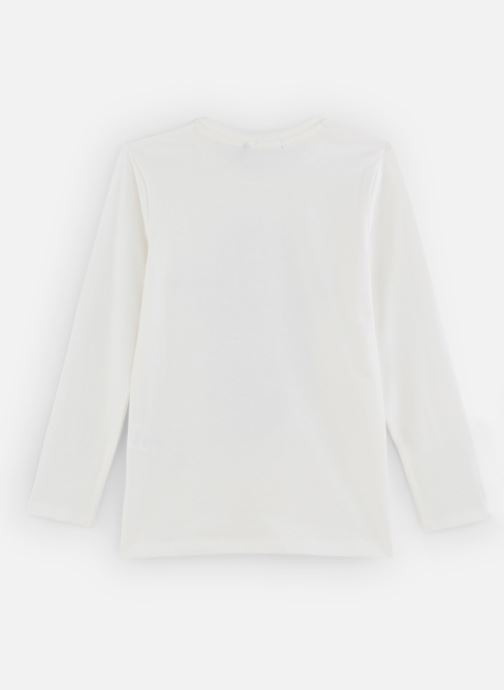 Kleding IKKS JUNIOR  Tee Shirt ML XP10293 Wit onder