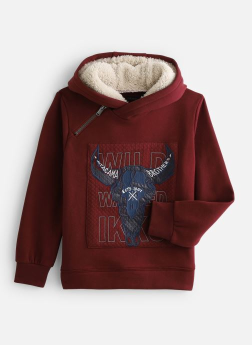 Vêtements IKKS JUNIOR  Sweat Cap XP15073 Rouge vue détail/paire