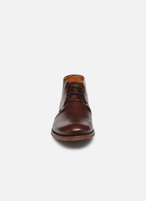 Zapatos con cordones Kost Paisible38 Marrón vista del modelo