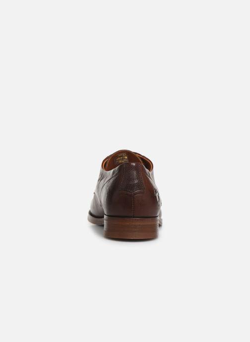 Zapatos con cordones Kost Daron6 Marrón vista lateral derecha