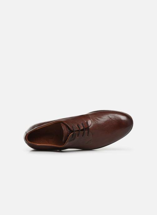 Zapatos con cordones Kost Daron6 Marrón vista lateral izquierda