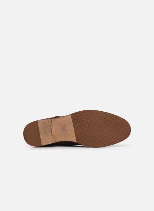 Chaussures à lacets Kost Daron6 Marron vue haut