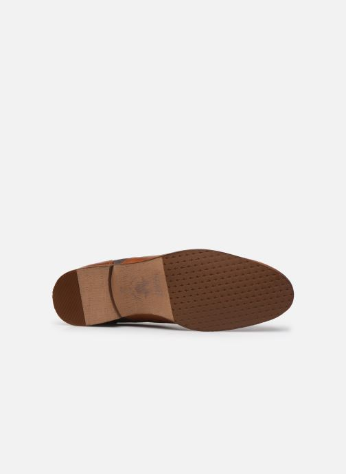 Chaussures à lacets Kost Comte44 Marron vue haut