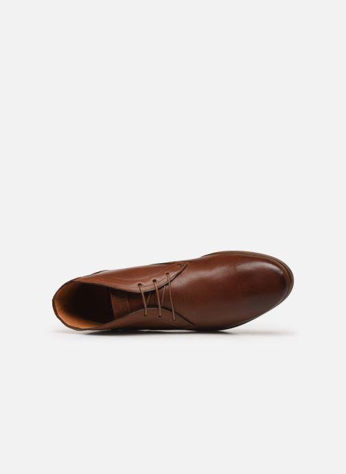 Bottines et boots Kost Braqueur7A Marron vue gauche
