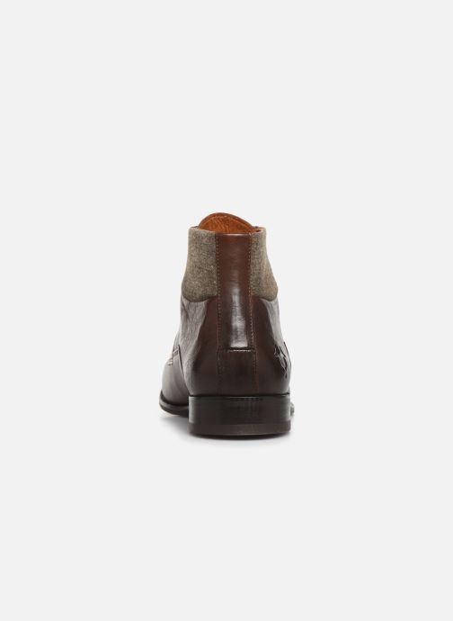 Bottines et boots Kost CriolV2 Marron vue droite