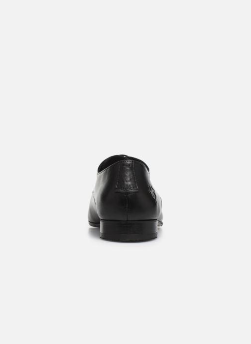 Zapatos con cordones Kost Rebel8 Negro vista lateral derecha