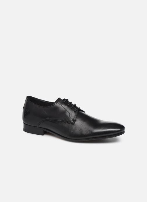 Zapatos con cordones Kost Rebel8 Negro vista de detalle / par