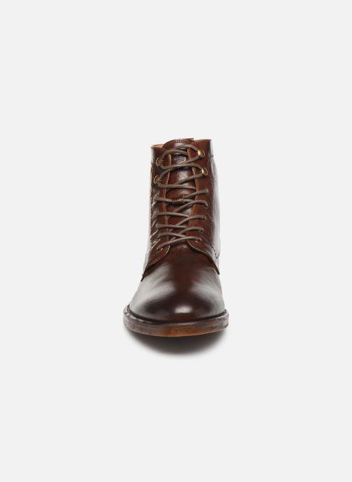 Bottines et boots Kost Militant67 Marron vue portées chaussures