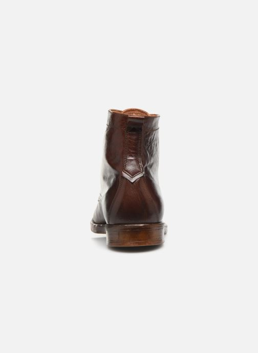 Ankle boots Kost Militant67 Brown view from the right