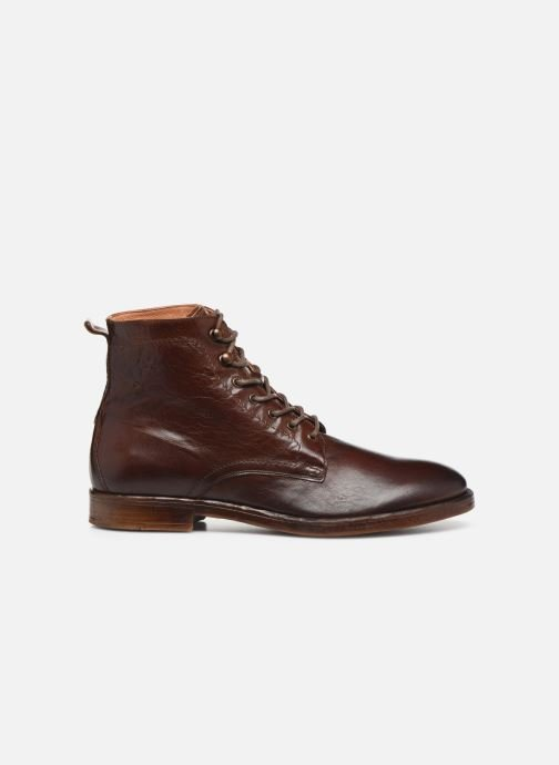 Ankle boots Kost Militant67 Brown back view
